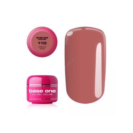 Base one farebný gél Dream pink 11D 5g