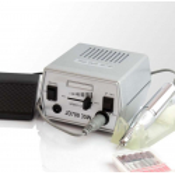 Elektrická brúska na nechty JD 700 strieborná NechtovyRAJ.sk - Daj svojim nechtom všetko, čo potrebujú
