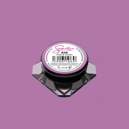 Farebný uv gél Semilac 010