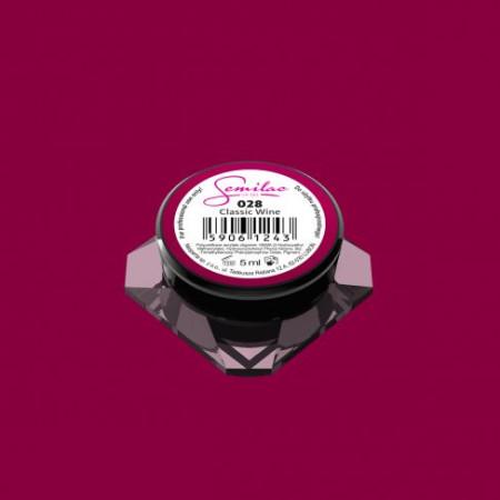 Farebný uv gél Semilac 028
