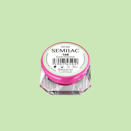 Farebný uv gél Semilac 168 NechtovyRAJ.sk - Daj svojim nechtom všetko, čo potrebujú