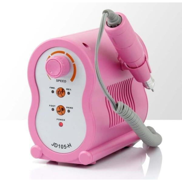 Profesionálna brúska na nechty JSDA JD105 - ružová 65 W NechtovyRAJ.sk - Daj svojim nechtom všetko, čo potrebujú