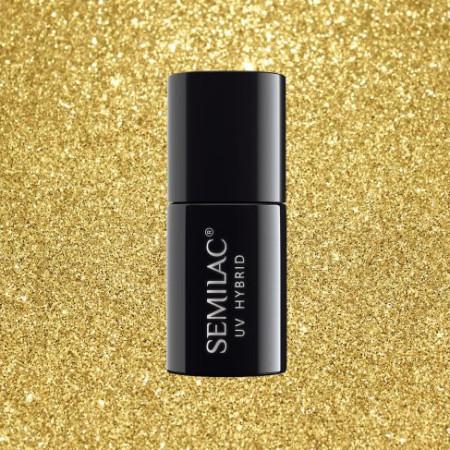Semilac - gél lak Sharm effect Gold 619 - akvarelové zdobenie NechtovyRAJ.sk - Daj svojim nechtom všetko, čo potrebujú