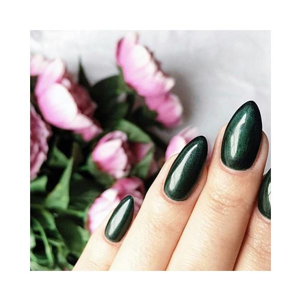 Semilac - gél lak 079 Dark Green Pearl 7ml NechtovyRAJ.sk - Daj svojim nechtom všetko, čo potrebujú