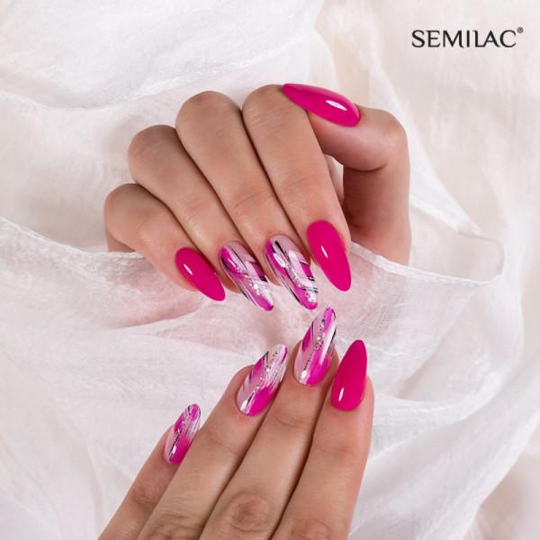 Semilac - gél lak 121 Ruby Charm 7ml NechtovyRAJ.sk - Daj svojim nechtom všetko, čo potrebujú
