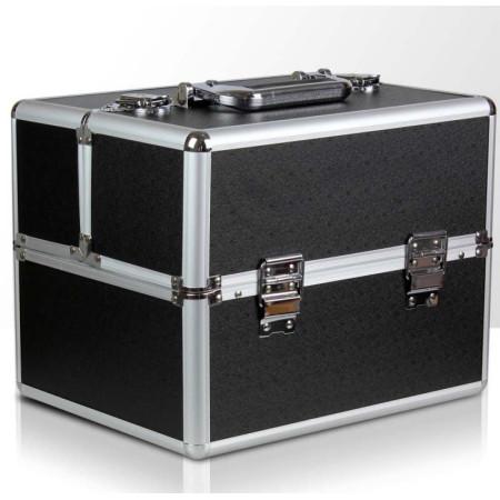 NechtovyRAJ kozmetický kufrík čierny NechtovyRAJ.sk - Daj svojim nechtom všetko, čo potrebujú