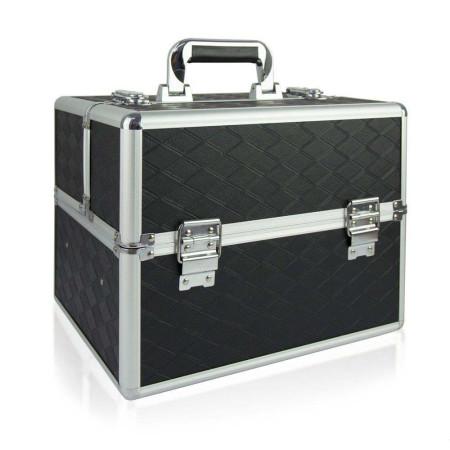 Kozmetický kufrík N04 - čierny NechtovyRAJ.sk - Daj svojim nechtom všetko, čo potrebujú