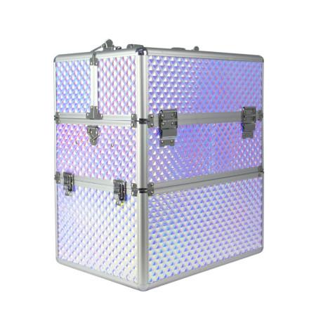 Dvojdielny kozmetický kufrík - Unicorn 203-4 NechtovyRAJ.sk - Daj svojim nechtom všetko, čo potrebujú