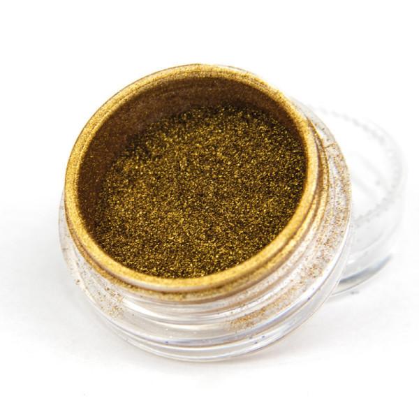 Pigmentový prášok Glass Golden
