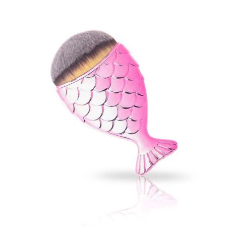 Kefka na make up a oprašovanie-rybka slabo ružová