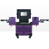 Kozmetický kufrík Lux fialový 01 NechtovyRAJ.sk - Daj svojim nechtom všetko, čo potrebujú