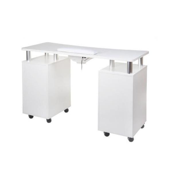 Stôl na manikúru s odsávačkou BD-3425 biely NechtovyRAJ.sk - Daj svojim nechtom všetko, čo potrebujú