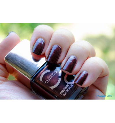 Catrice ICONails gel Lacque lak na nechty 04 Unmistakable mistake Hnedá