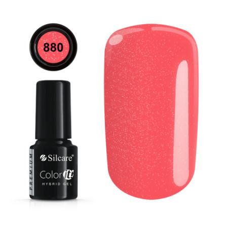 Gél lak Color IT Premium 880 6 ml