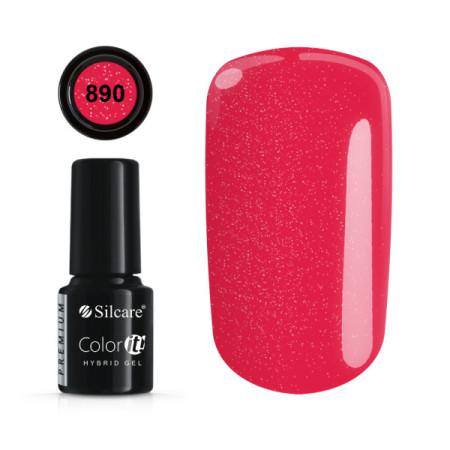Gél lak Color IT Premium 890 6 ml