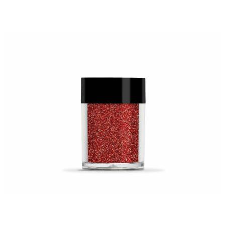 Glitrový prášok 8g LECENTÉ™ Bright Red Ultra Fine 28. NechtovyRAJ.sk - Daj svojim nechtom všetko, čo potrebujú