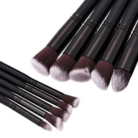 Sada štetcov na make-up 10 ks čierna NechtovyRAJ.sk - Daj svojim nechtom všetko, čo potrebujú
