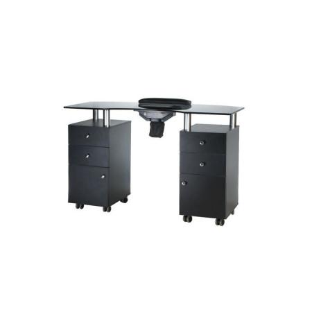 Stôl na manikúru s odsávačkou BD-3453 čierny NechtovyRAJ.sk - Daj svojim nechtom všetko, čo potrebujú