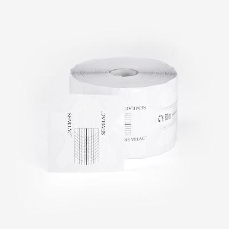 Šablony na nechty semilac hardi wide 500ks NechtovyRAJ.sk - Daj svojim nechtom všetko, čo potrebujú