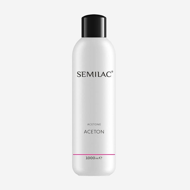 Odstraňovač gél laku Aceton Semilac 1000 ml NechtovyRAJ.sk - Daj svojim nechtom všetko, čo potrebujú