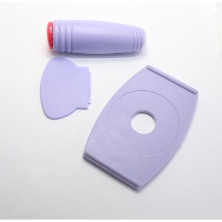Sada na pečiatkovanie fialová + doštičky 5ks NechtovyRAJ.sk - Daj svojim nechtom všetko, čo potrebujú