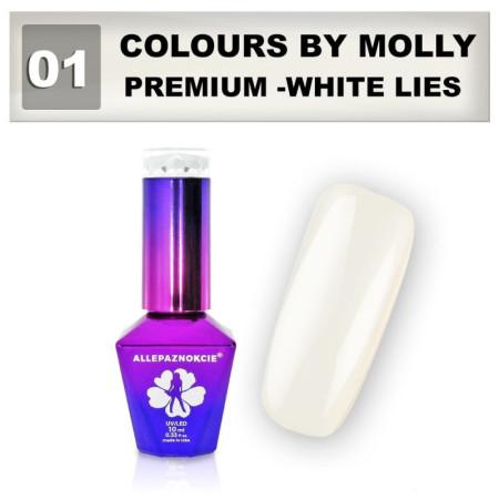 01. Gél lak Colours by Molly Premium 10 ml NechtovyRAJ.sk - Daj svojim nechtom všetko, čo potrebujú