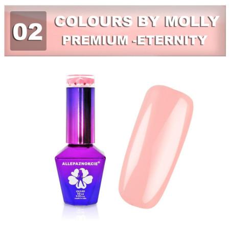02. Gél lak Colours by Molly Premium 10 ml NechtovyRAJ.sk - Daj svojim nechtom všetko, čo potrebujú