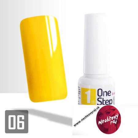 06. Gél lak One step NR 3v1 15 ml - Žltý NechtovyRAJ.sk - Daj svojim nechtom všetko, čo potrebujú