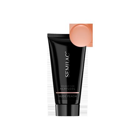 Semilac akrygél doubleflex - nude peach 60ml NechtovyRAJ.sk - Daj svojim nechtom všetko, čo potrebujú