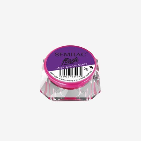 SemiFlash Neon effect Violet 679 NechtovyRAJ.sk - Daj svojim nechtom všetko, čo potrebujú