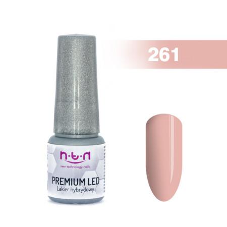 NTN Premium Led gél lak 261 6ml NechtovyRAJ.sk - Daj svojim nechtom všetko, čo potrebujú