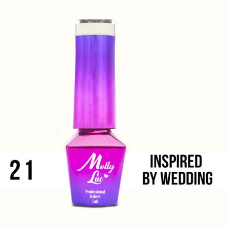 21. MOLLY LAC gél lak - INSPIRED BY WEDDING 5ML NechtovyRAJ.sk - Daj svojim nechtom všetko, čo potrebujú