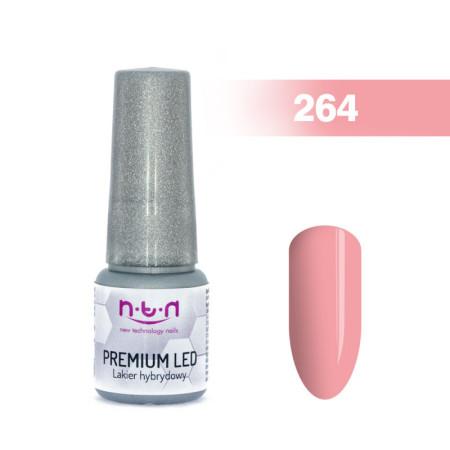NTN Premium Led gél lak 264 6ml NechtovyRAJ.sk - Daj svojim nechtom všetko, čo potrebujú