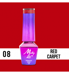 08. MOLLY LAC gél lak -RED CARPET 5ML