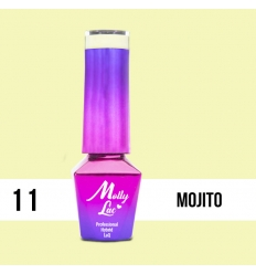 11. MOLLY LAC gél lak -Mojito 5ML