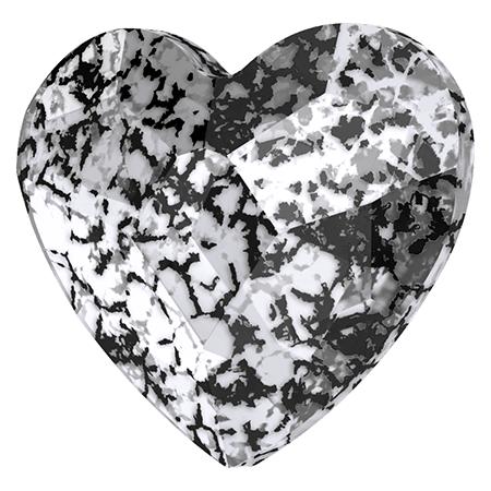 Swarovski srdce Black Patina 6 mm NechtovyRAJ.sk - Daj svojim nechtom všetko, čo potrebujú