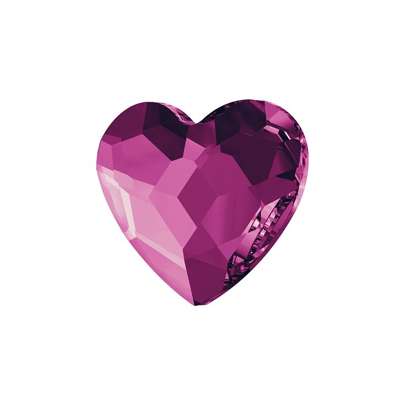 Swarovski srdce Fuchsia 6 mm NechtovyRAJ.sk - Daj svojim nechtom všetko, čo potrebujú