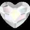 Swarovski srdce Crystal Aurora 6 mm NechtovyRAJ.sk - Daj svojim nechtom všetko, čo potrebujú