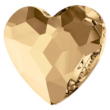 Swarovski srdce Golden Shadow 6 mm NechtovyRAJ.sk - Daj svojim nechtom všetko, čo potrebujú