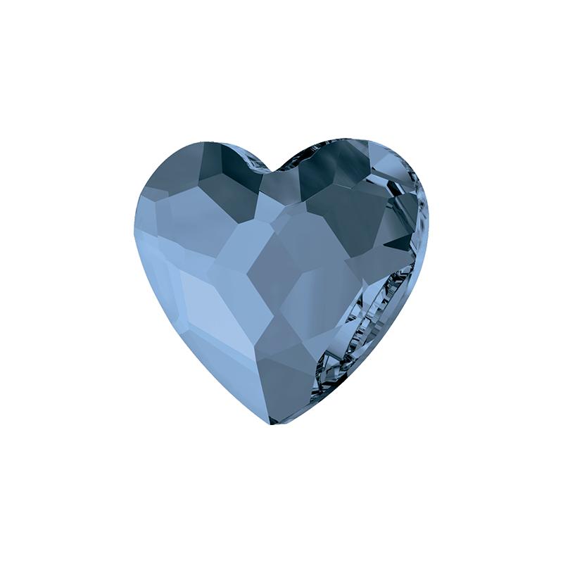 Swarovski srdce Denim Blue 6 mm NechtovyRAJ.sk - Daj svojim nechtom všetko, čo potrebujú