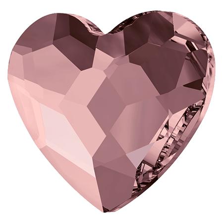 Swarovski srdce Antique Pink 6 mm NechtovyRAJ.sk - Daj svojim nechtom všetko, čo potrebujú