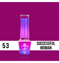 53. MOLLY LAC gél lak - Successful woman 5ML