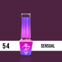 54. MOLLY LAC gél lak - Sensual 5ML
