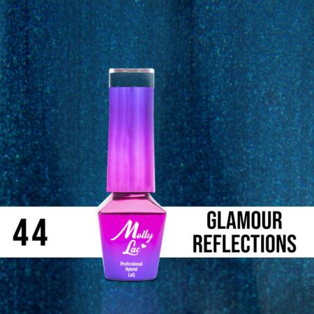 44. MOLLY LAC gél lak - Glamour Reflections 5ML NechtovyRAJ.sk - Daj svojim nechtom všetko, čo potrebujú
