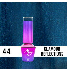 44. MOLLY LAC gél lak - Glamour Reflections 5ML