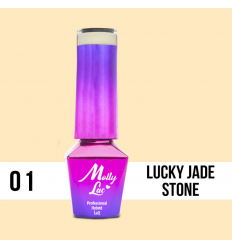 01. MOLLY LAC gél lak - LUCKY JADE STONE 5ML