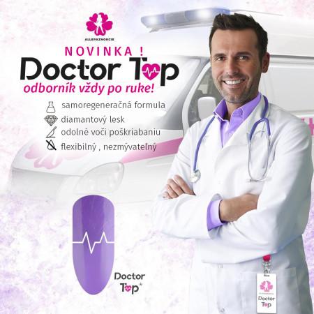 Molly Lac Doctor Top coat-bezvýpotkový 10 ml NechtovyRAJ.sk - Daj svojim nechtom všetko, čo potrebujú