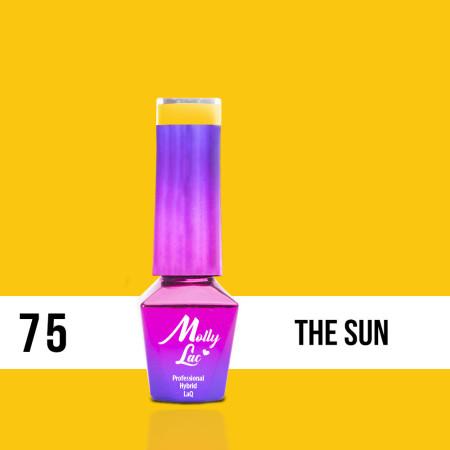 75. MOLLY LAC gél lak - THE SUN 5ml NechtovyRAJ.sk - Daj svojim nechtom všetko, čo potrebujú