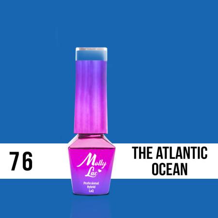 76. MOLLY LAC gél lak - THE ATLANTIC OCEAN 5ml NechtovyRAJ.sk - Daj svojim nechtom všetko, čo potrebujú