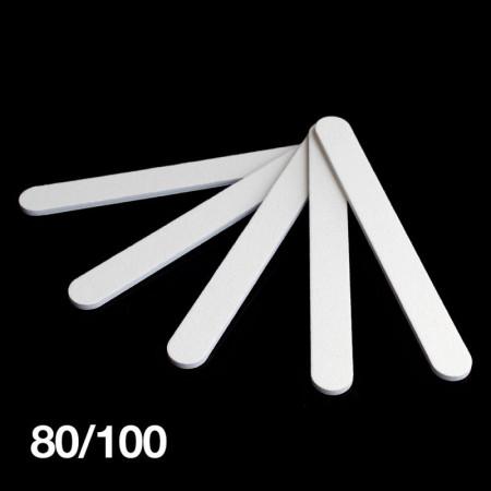 Pilník biely rovný 80/100 NechtovyRAJ.sk - Daj svojim nechtom všetko, čo potrebujú